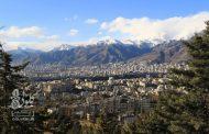 عکسهایی از آسمان آبی تهران