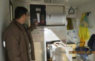 پایش بیمارستانها و مراکز درمانی شهرستان قزوین