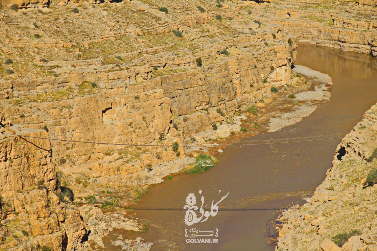 پل دره خزینه لرستان برای گردشگری ساخته نشد