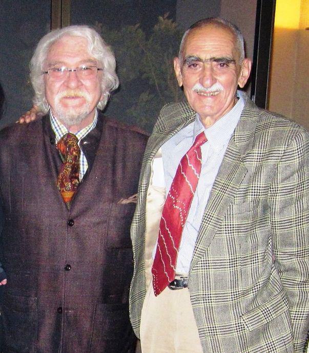 یادی از دو استاد ایران دوست