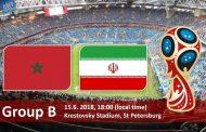 ایران و مراکش روز جمعه ۲۵ خرداد بازی میکنند