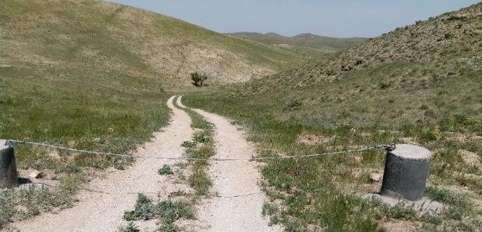 مسدودسازی راههای ورودی به زون امن منطقه حفاظت شده باشگل