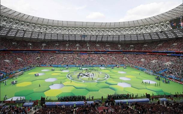 مراسم افتتاحیه جام جهانی روسیه برگزار شد