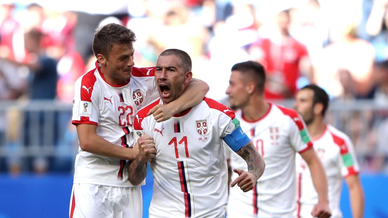 صربستان با یک گل کاستاریکا را شکست داد