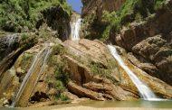 راه دسترسی به آبشار نوژیان خرم آباد