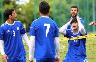 گزارش تصویری از تمرین تیم ملی