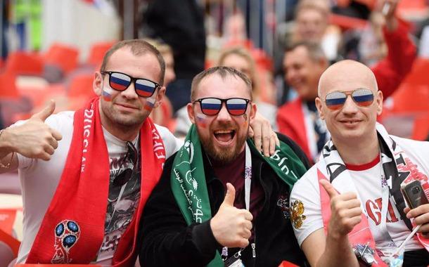 تصاویری از مراسم افتتاحیه جام جهانی روسیه ۲۰۱۸