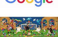 طرح زیبای گوگل برای تیم ملی فوتبال ایران