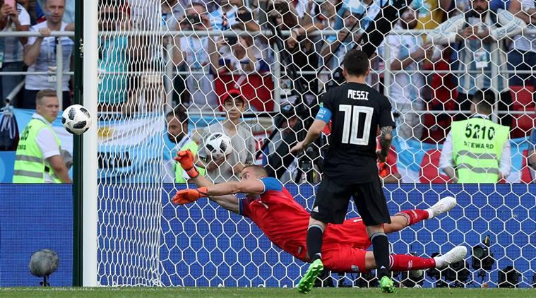 آرژانتین از پس شادی ایسلندی برنیامد