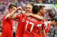 روسیه در نخستین بازی جام جهانی عربستان را شکست داد