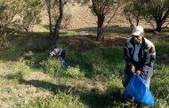 پاکسازی محدوده روستاهای منطقه حفاظت شده باشگل از زباله