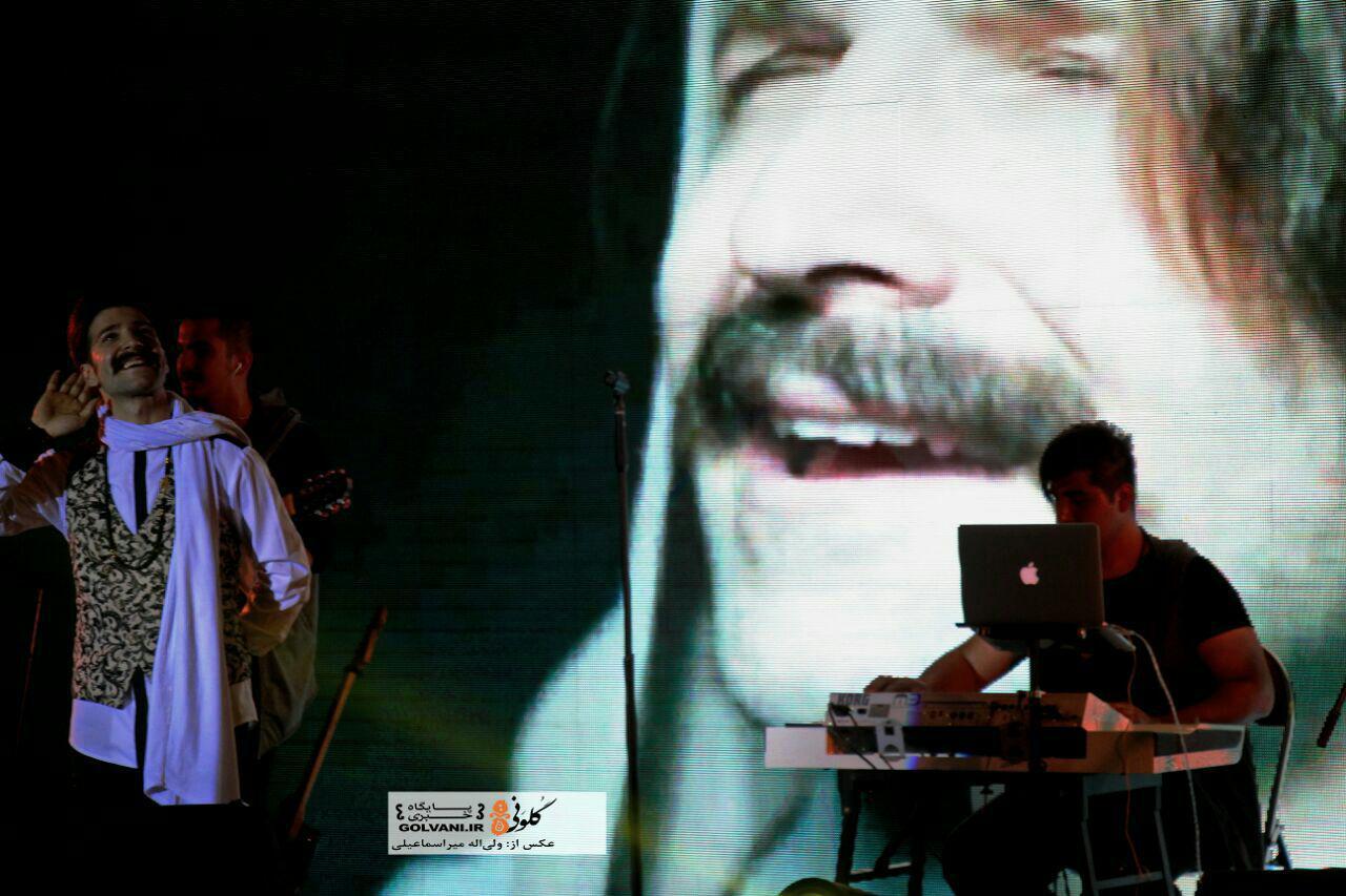 کنسرت حمید هیراد در خرمآباد برگزار شد