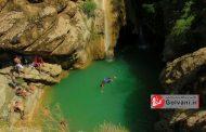 آبشار کموتر لو یا کبوتر لانه در دل صخرههای رویایی لرستان