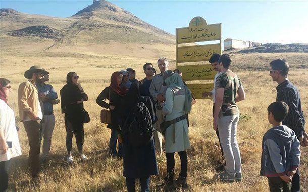بازدید راهنمایان طبیعتگردی و فرهنگی از منطقه حفاظت شده باشگل