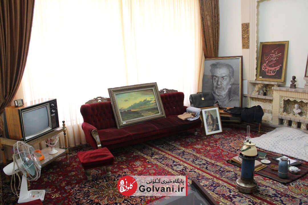 گزارش تصویری از خانه شهریار در تبریز