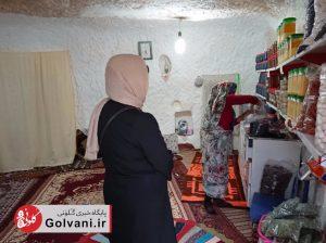 خرید از مردم محلی کندوان