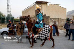 داماد سوار بر اسب لرستان