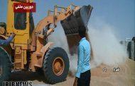 چرا خاکها را در گندم میریزید؟