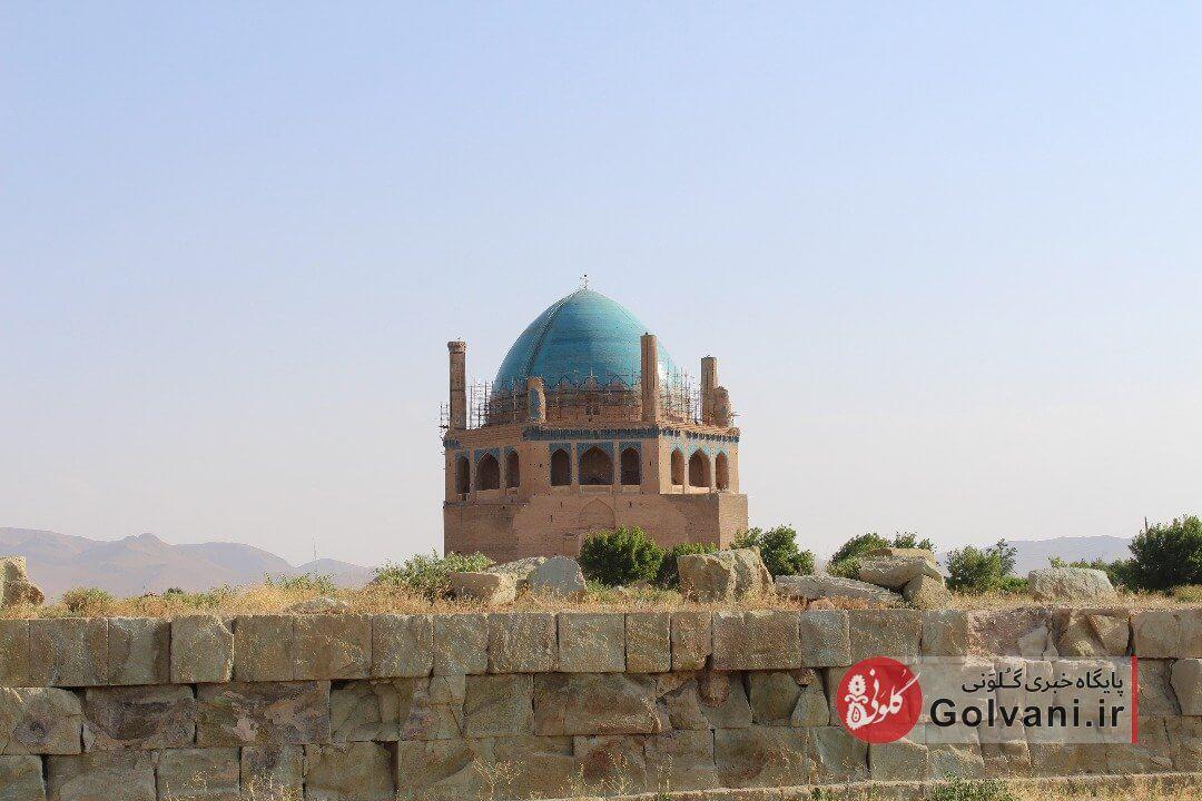 گنبد سلطانیه زنجان را از نزدیک ببینید