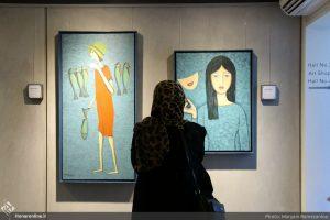 آثار نقاشی تهمینه میلانی