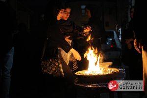 آیین چهل منبر در شهر لاهیجان