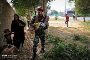 تصویری از حمله تروریستی اهواز