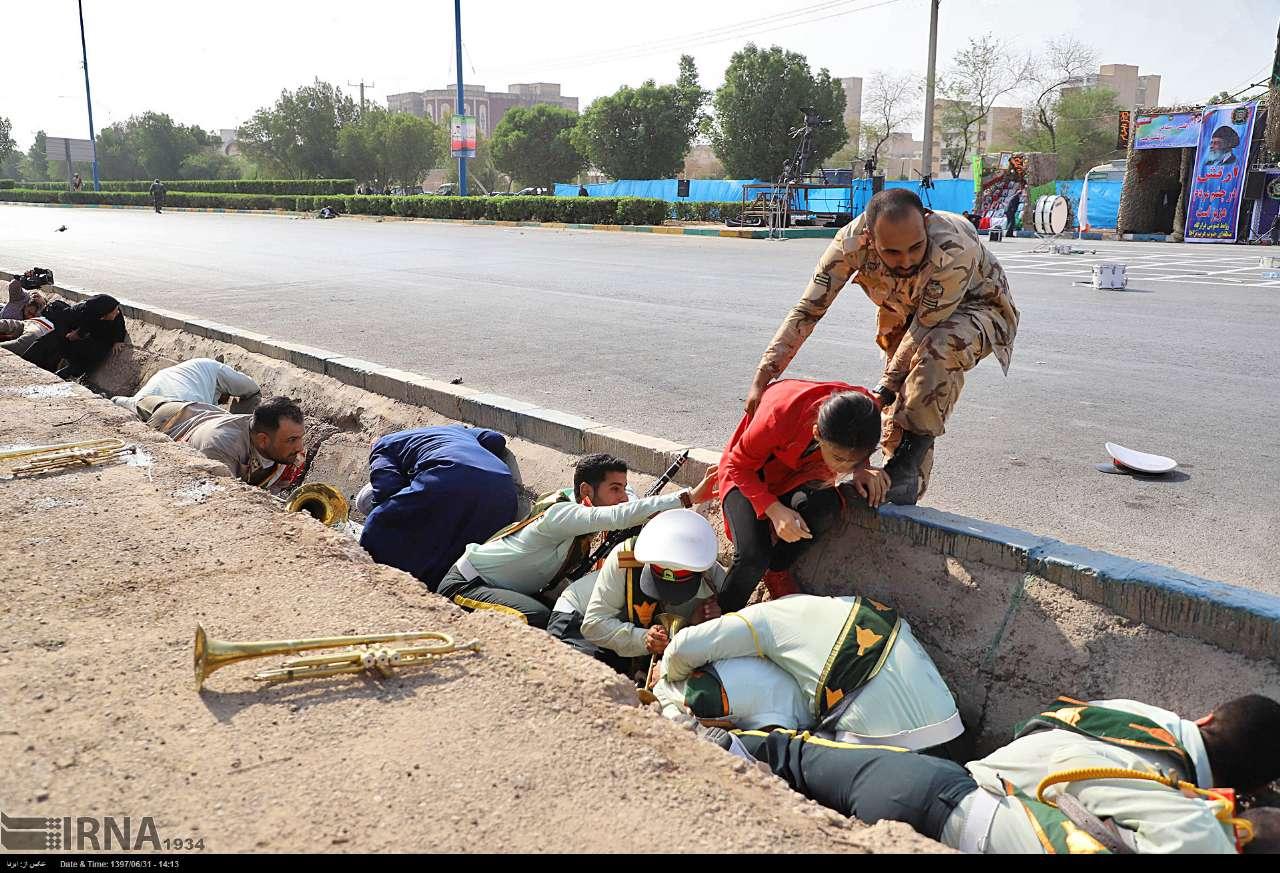 حمله تروریستی در شهر اهواز