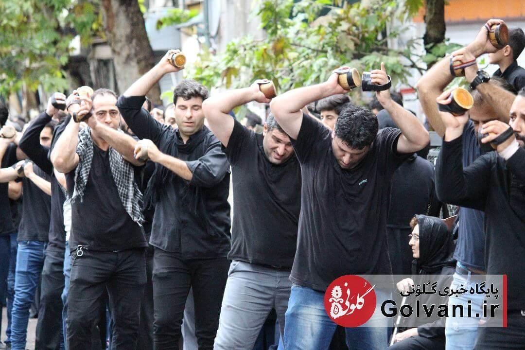 مراسم عزاداری عاشورا در لاهیجان
