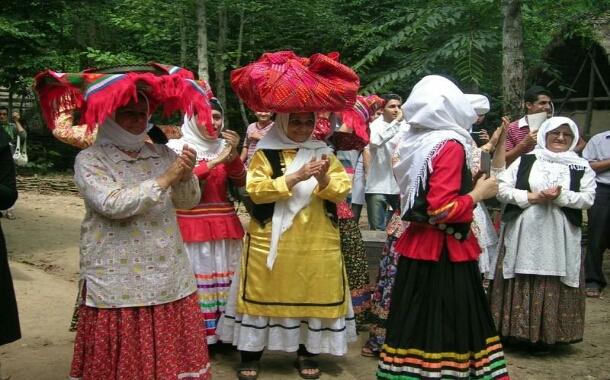 گیشه یاور از رسمهای سنتی لاهیجان