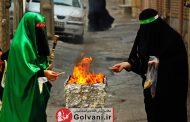 چهل منبر خرم آباد در روز تاسوعای حسینی