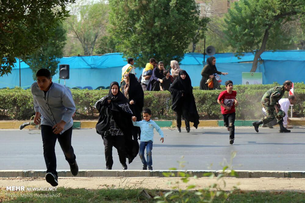 حمله تروریستی به اهواز بعد از روز جهانی صلح