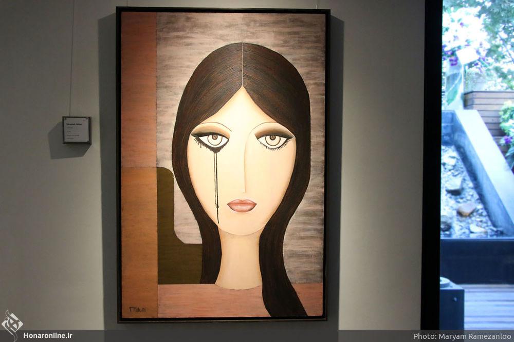 کپیکاری در نمایشگاه نقاشی تهمینه میلانی