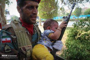 کودک در حمله تروریستی اهواز