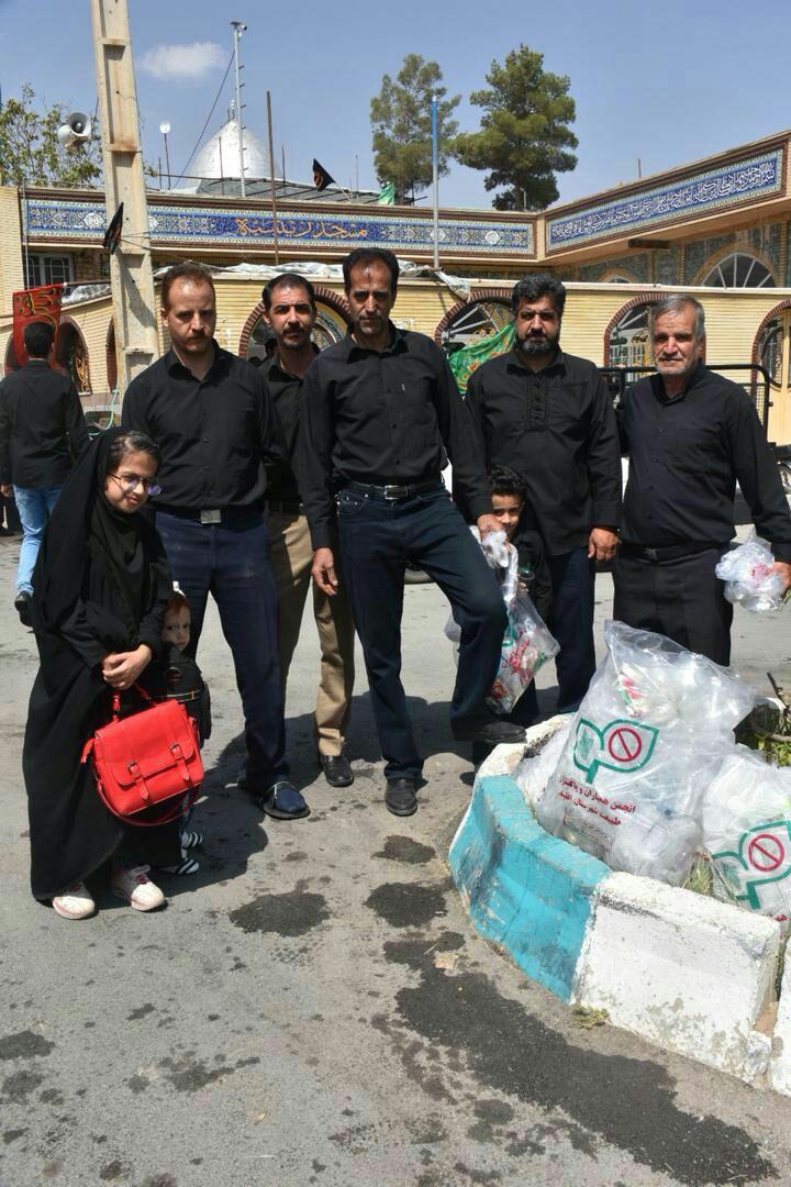 قرار سبز پاکسازی ماه محرم در شهر ارومیه استان آذربایجان غربی