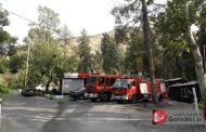 عجیبترین آتش نشانی ایران