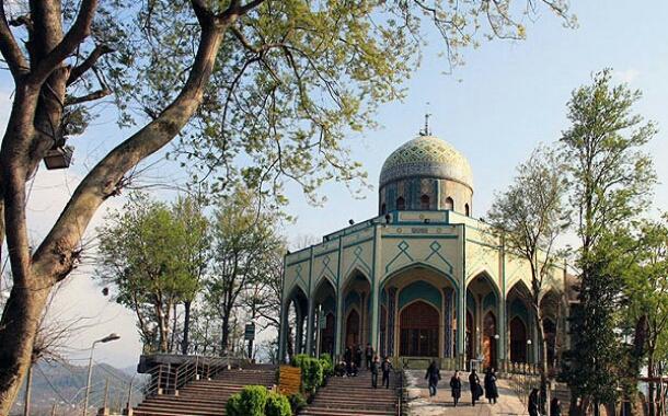مراکز زیارتی شهرستان سنگر