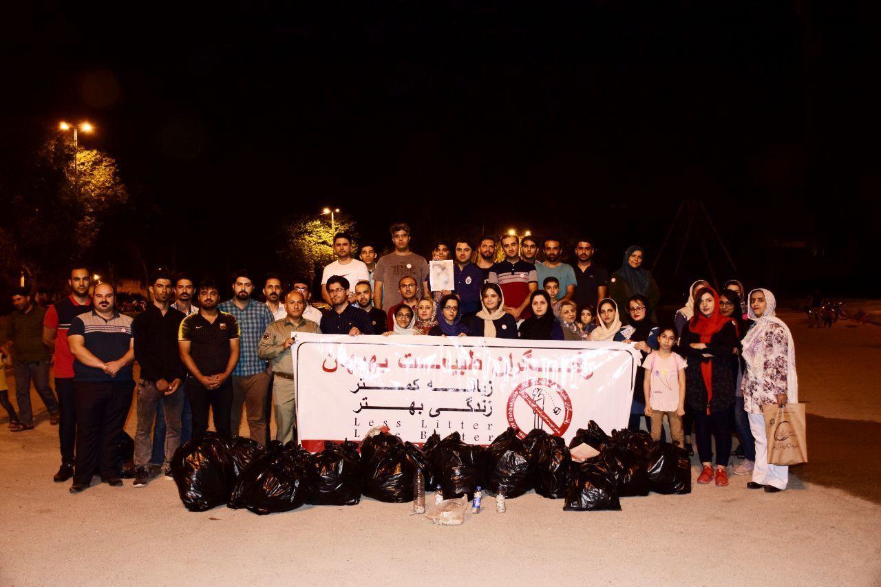 قرار سبز در شهر بهبهان استان خوزستان