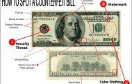دلار تقلبی را از اصلی تشخیص بدهید+فیلم آموزشی