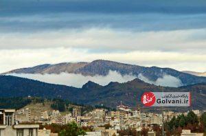 باران در خرم آباد