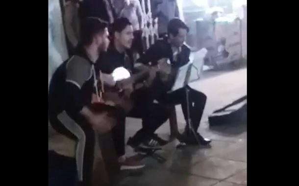 برخورد عالی با نوازندگان خیابانی در رشت