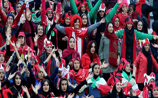 Persepolis Women football fans