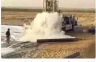 منابع عظیم آب شیرین در سیستان و بلوچستان دروغ است