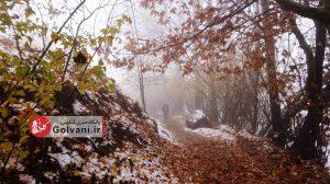 مسیر صعود به ارتفاعات تهران