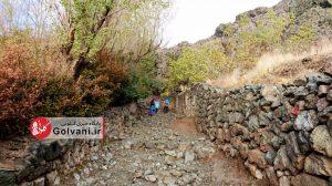 مسیر صعود به قله