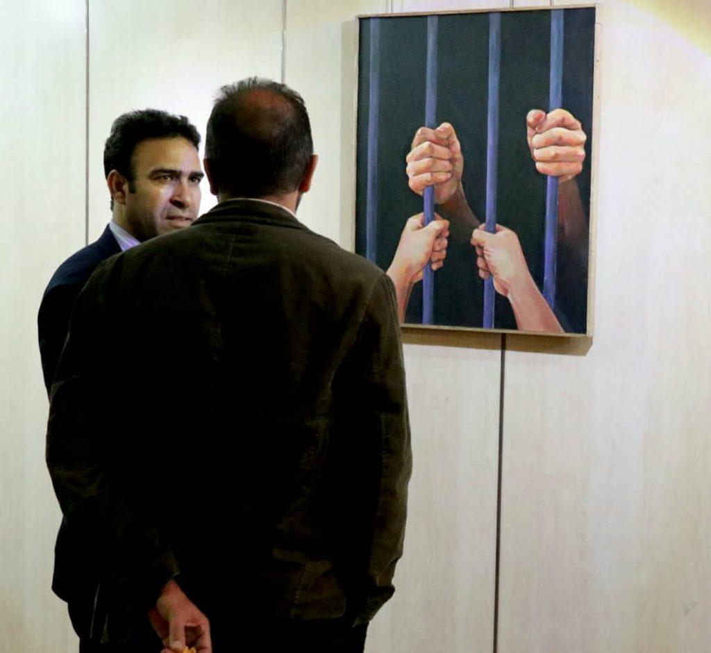 نمایشگاه نقاشی های مفهومی