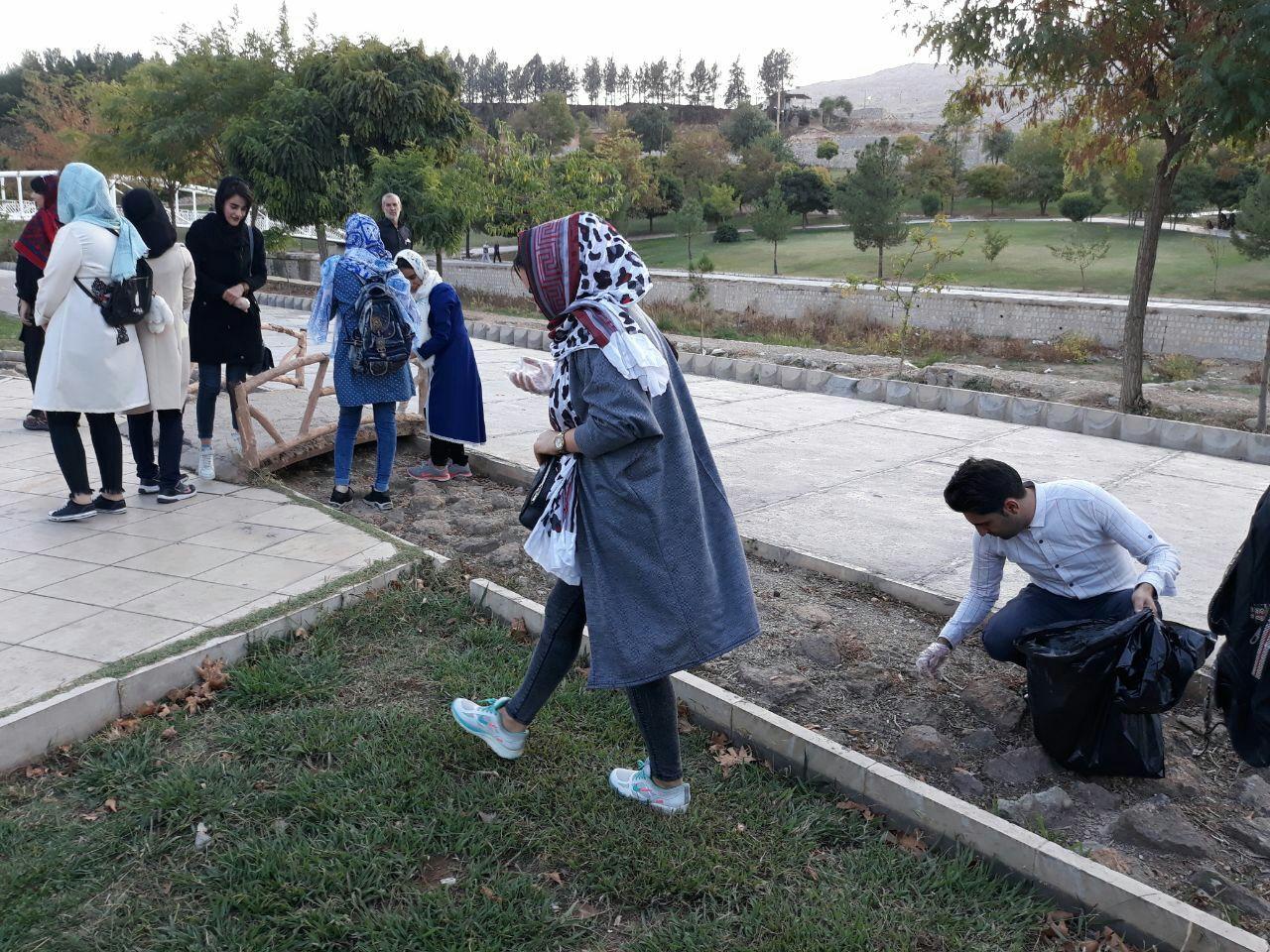 قرار سبز در شهر خرم آباد استان لرستان