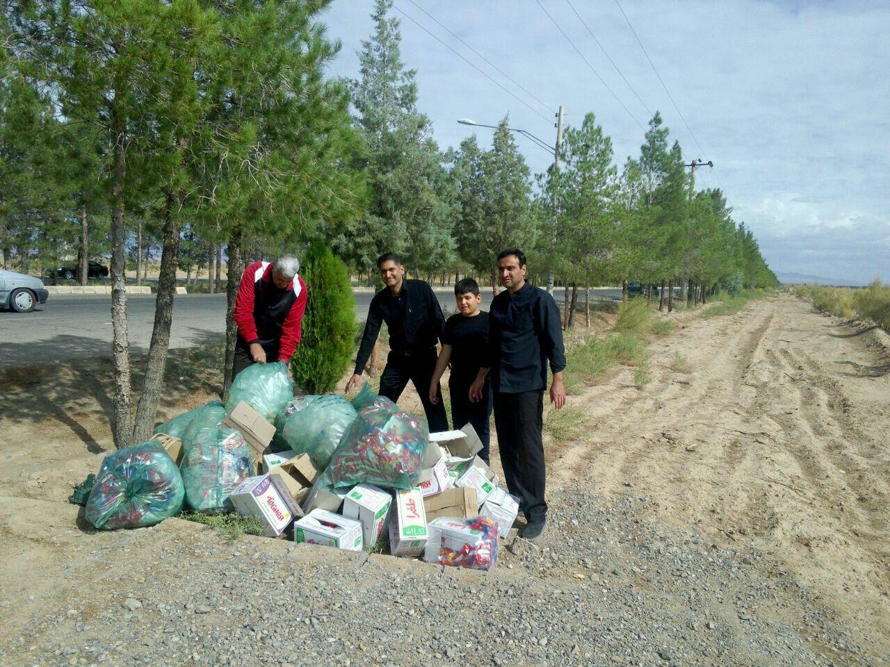 قرار سبز در شهر بادرود استان اصفهان