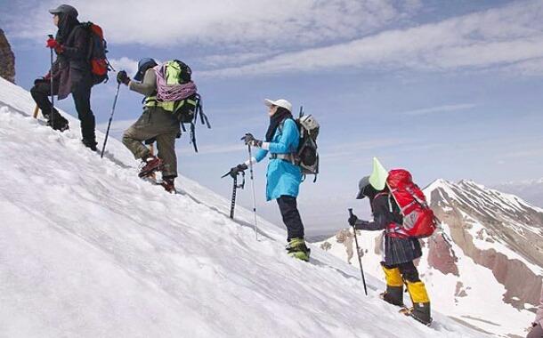 چند پیشنهاد برای کوهنوردی زنان در خراسان رضوی