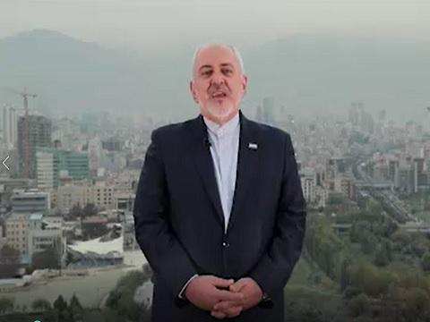 پیام ویدئویی دکتر محمد جواد ظریف خطاب به ملت ایران