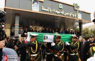 شهید نورخدا موسوی در خرم آباد تشییع شد